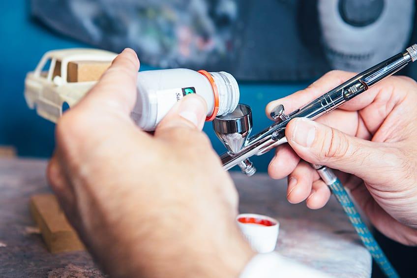 airbrush set modellbau