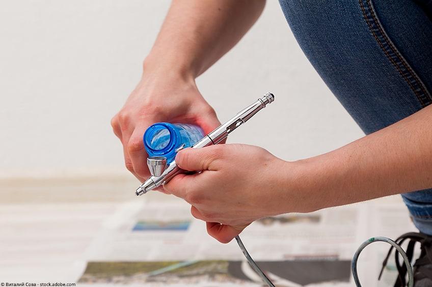 airbrush reinigen isopropanol
