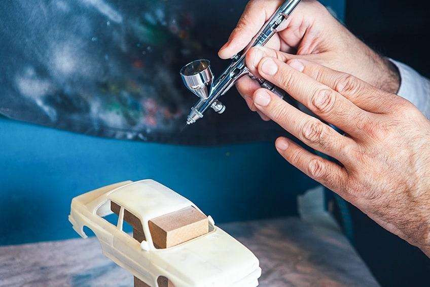 airbrush modelbouw