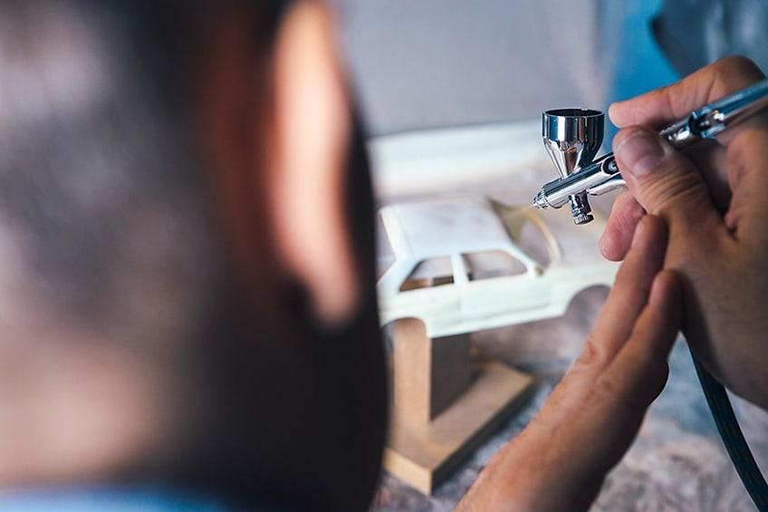 airbrush set modelbouw