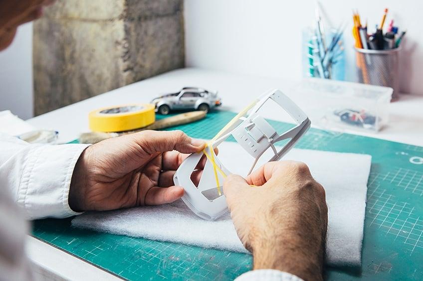 modelbouw airbrush