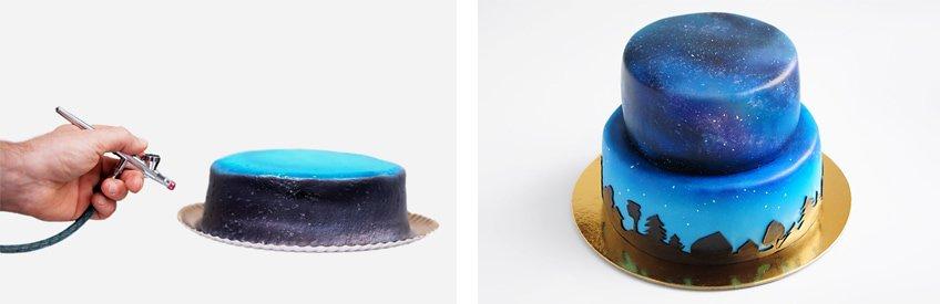 airbrush machine for cakes