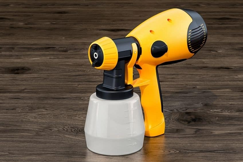 battery paint sprayer