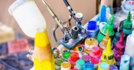 how to thin acrylic paint for airbrush