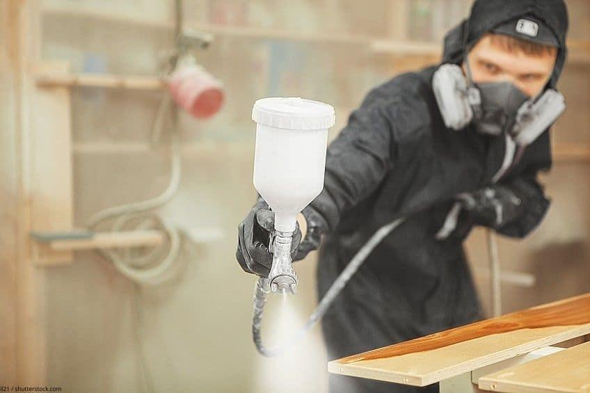 respirator for airbrushing