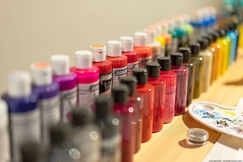 thinning acrylic paint for airbrush