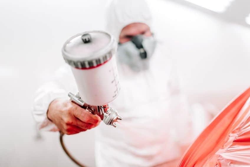 gravity feed paint sprayer