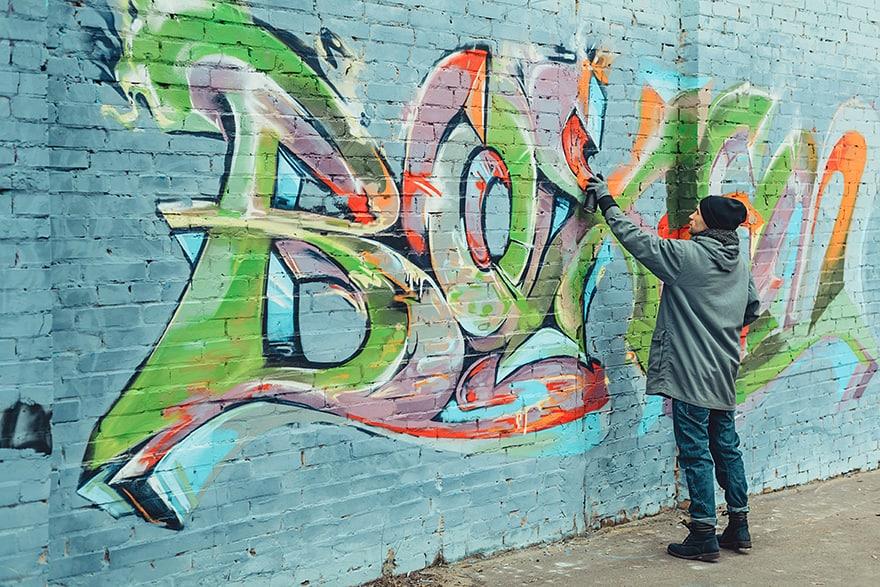 spray paint for art