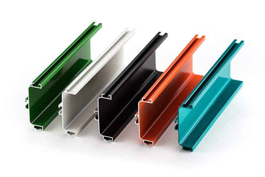 aluminium farbe