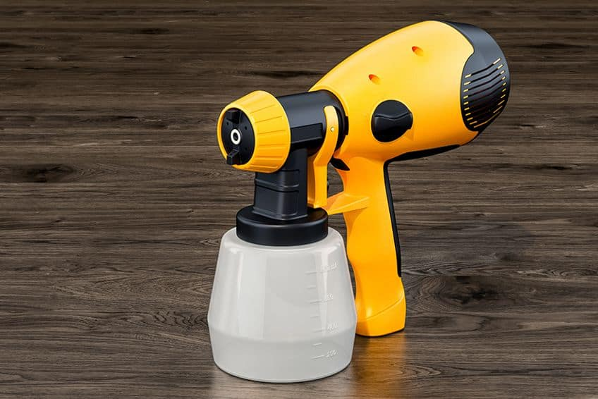 Using Interior Paint Sprayer