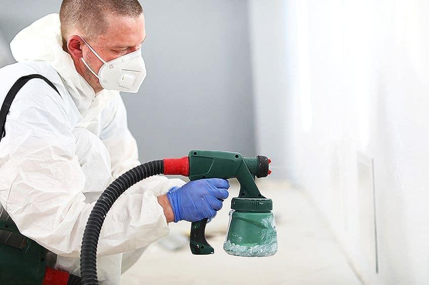Using an Indoor Paint Sprayer