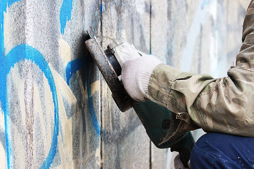 How to Get Spray Paint Off Concrete