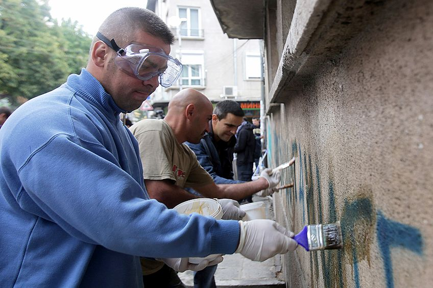 How to Remove Spray Paint from Concrete Easily