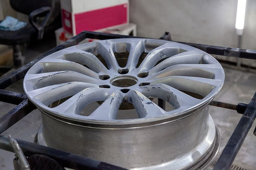 How to Paint Wheels
